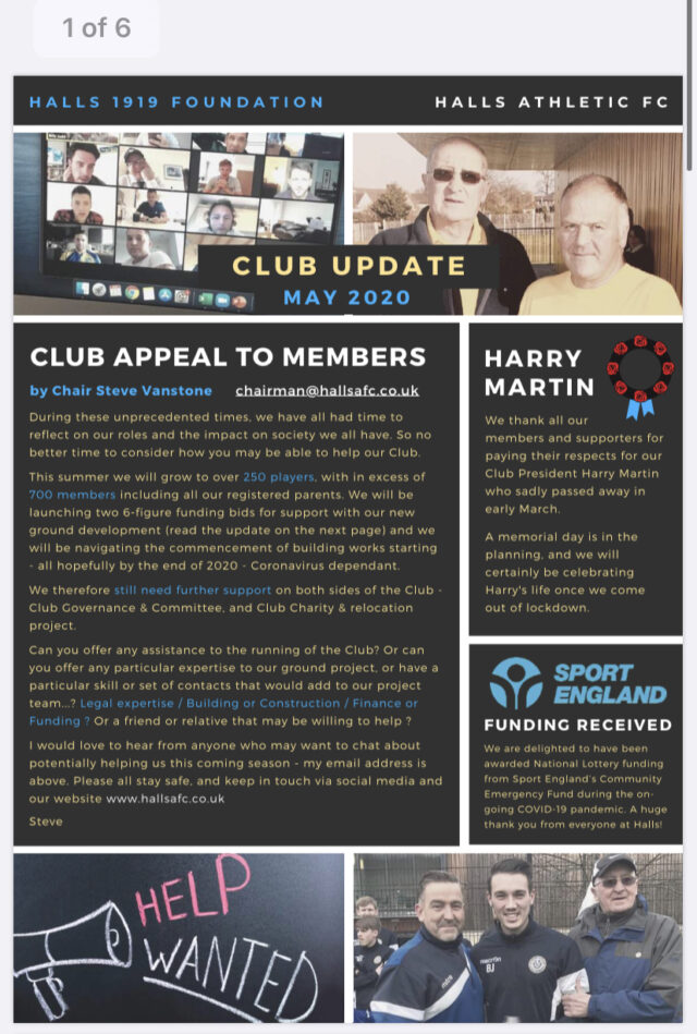 Club Newsletter – May